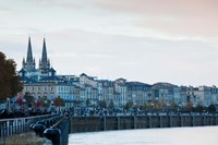 City at the waterfront, Garonne River, Bordeaux, Gironde, Aquitaine, France by Panoramic Images - various sizes
