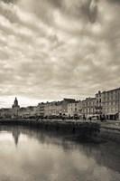 Buildings at the Waterfront, Old Port, La Rochelle, Charente-Maritime, Poitou-Charentes, France Fine Art Print