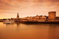 Tour de la Lanterne and Tour de la Chaine towers, La Rochelle, Charente-Maritime, Poitou-Charentes, France Fine Art Print