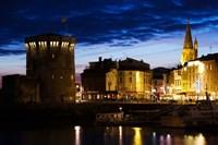 Tour de la Chaine tower, Old Port, La Rochelle, Charente-Maritime, Poitou-Charentes, France Fine Art Print