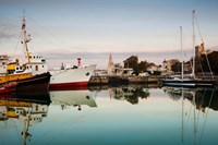Boats at Maritime Museum, La Rochelle, Charente-Maritime, Poitou-Charentes, France by Panoramic Images - various sizes