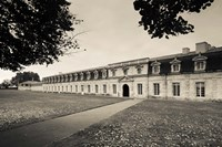 Facade of the rope making factory of the French Navy, Corderie Royale, Rochefort, Charente-Maritime, Poitou-Charentes, France by Panoramic Images - various sizes