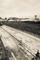 Old drydock at the rope making factory of French Navy, Corderie Royale, Rochefort, Charente-Maritime, Poitou-Charentes, France by Panoramic Images - various sizes