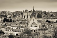 Townscape and Cathedrale St-Pierre, Poitiers, Vienne, Poitou-Charentes, France by Panoramic Images - various sizes, FulcrumGallery.com brand