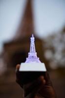 Close-up of a souvenir miniature Eiffel Tower lamp, Paris, Ile-de-France, France by Panoramic Images - various sizes