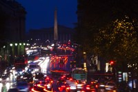 Rue Royale at Night, Paris, Ile-de-France, France by Panoramic Images - various sizes