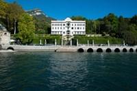 Villa at the waterfront, Villa Carlotta, Tremezzo, Lake Como, Lombardy, Italy by Panoramic Images - various sizes, FulcrumGallery.com brand