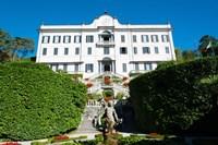 Low angle view of a villa, Villa Carlotta, Tremezzo, Lake Como, Lombardy, Italy Fine Art Print