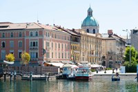 Buildings alongside Lake Como at Piazza Cavour, Como, Lombardy, Italy by Panoramic Images - various sizes