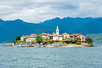 Town on an Island, Isola dei Pescatori, Stresa, Lake Maggiore, Piedmont, Italy by Panoramic Images - various sizes, FulcrumGallery.com brand