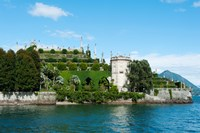 Formal Garden on the South end of Isola Bella, Stresa, Borromean Islands, Lake Maggiore, Piedmont, Italy by Panoramic Images - various sizes