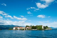 Isola Bella seen from ferry, Stresa, Lake Maggiore, Piedmont, Italy by Panoramic Images - various sizes
