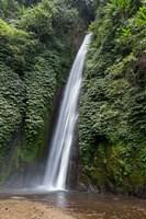 Waterfall near Munduk, Gobleg, Banjar, Bali, Indonesia Fine Art Print