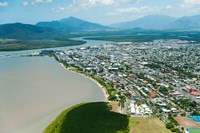 Aerial view of the City at Waterfront, Cairns, Queensland, Australia by Panoramic Images - various sizes