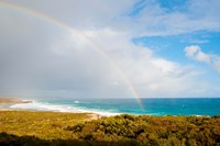 Rainbow over the Pacific ocean, South Ocean Resort, Kangaroo Island, South Australia, Australia by Panoramic Images - various sizes - $54.99