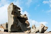 Detail of Remarkable Rocks, Flinders Chase National Park, Kangaroo Island, South Australia, Australia by Panoramic Images - various sizes