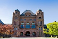 Facade of a building in Queens Park, Toronto, Ontario, Canada by Panoramic Images - various sizes, FulcrumGallery.com brand