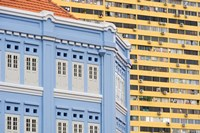 Restored Building in Chinatown, Singapore by Panoramic Images - various sizes, FulcrumGallery.com brand