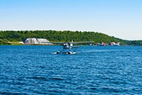 Seaplane in the sea, Deep Bay, Parry Sound, Ontario, Canada by Panoramic Images - various sizes