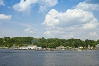 Boats in a lake, Gravenhurst Bay, Gravenhurst, Ontario, Canada by Panoramic Images - various sizes