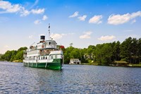 Wenonah II steamship in a lake, Lake Muskoka, Gravenhurst Bay, Ontario, Canada by Panoramic Images - various sizes