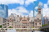 Facade of a government building, Toronto Old City Hall, Toronto, Ontario, Canada by Panoramic Images - various sizes