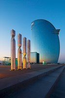 W Barcelona, Barcelona, Catalonia, Spain by Panoramic Images - various sizes