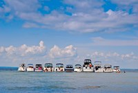 Boats in a lake, Lake Simcoe, Ontario, Canada by Panoramic Images - various sizes - $54.99