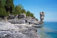 Bruce Peninsula Georgian Bay Ontario Canada