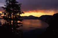 Sunrise view from Discovery Point over Crater Lake, Crater Lake National Park, Oregon, USA by Panoramic Images - various sizes