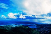 Storm off of Sint Maarten, Netherlands Antilles by Panoramic Images - various sizes
