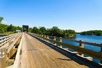 Bridge over a lake, Parry Sound, Ontario, Canada by Panoramic Images - various sizes