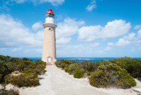 Lighthouse at coast, Cape du Couedic Lighthouse, Flinders Chase National Park, Kangaroo Island, South Australia, Australia by Panoramic Images - various sizes, FulcrumGallery.com brand