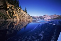 Morning light at Eagle Point, Crater Lake National Park, Oregon, USA by Panoramic Images - various sizes, FulcrumGallery.com brand