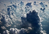 Aerial view of the cloud formations by Panoramic Images - various sizes