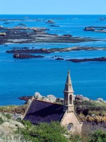 La Trinite Chapel at Ile-De-Brehat archipelago, Cotes-d'Armor, Brittany, France by Panoramic Images - various sizes, FulcrumGallery.com brand