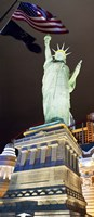 Low angle view of a statue, Statue of Liberty, New York New York Hotel, Las Vegas, Nevada, USA by Panoramic Images - various sizes