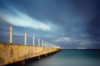 Muelle Playa 1 Color by Moises Levy - various sizes