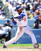 Hanley Ramirez 2014 Batting Action Fine Art Print