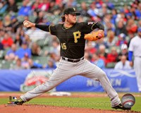 Gerrit Cole in action 2014 Fine Art Print