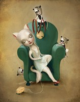 Belling the Cat Fine Art Print