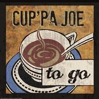 Cup'Pa Joe Framed Print