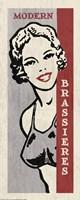Modern Brassieres Framed Print