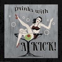 Drinks with a Kick Fine Art Print
