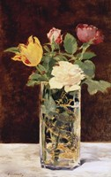Roses and Tulips in a Vase, 1883 by Edouard Manet, 1883 - various sizes