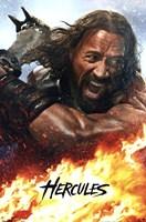 Hercules - fire Wall Poster