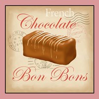 French Chocolate Bonbons Fine Art Print