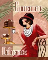 French Chocolate II Framed Print
