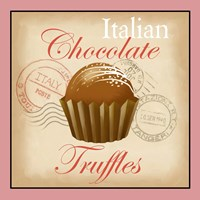Italian Chocolate Truffles Fine Art Print