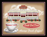 South End Diner Fine Art Print